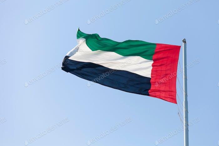 Flagge der VAE