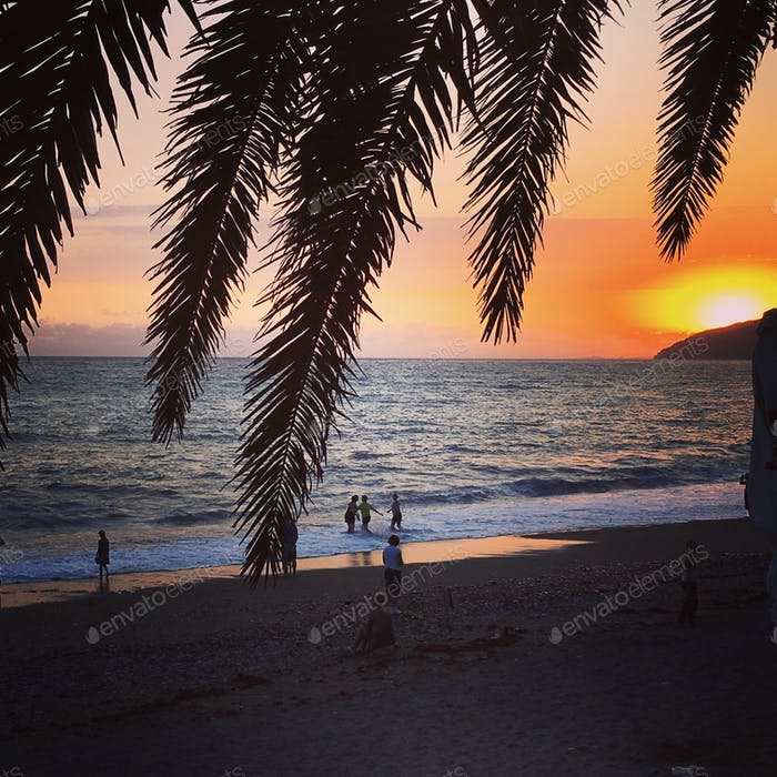 #закат #море #солнце #лето