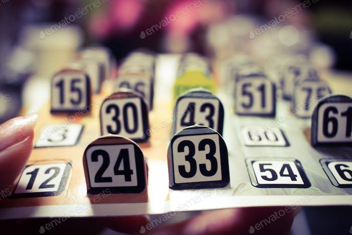 Gambling for good reason.