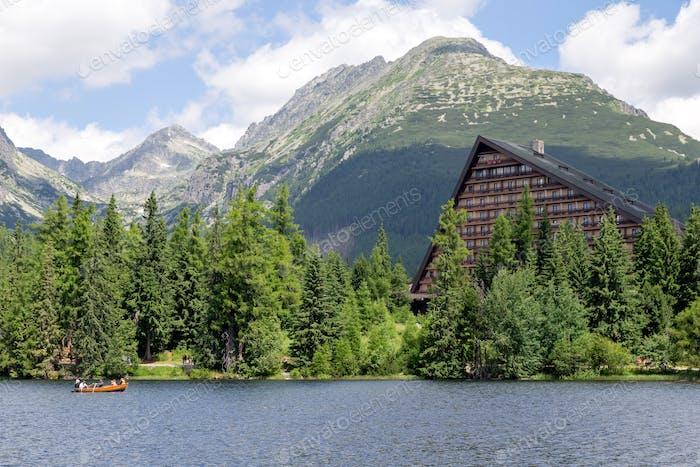 Reiseziel, Slowakei, Hohe Tatra, Strbske Pleso