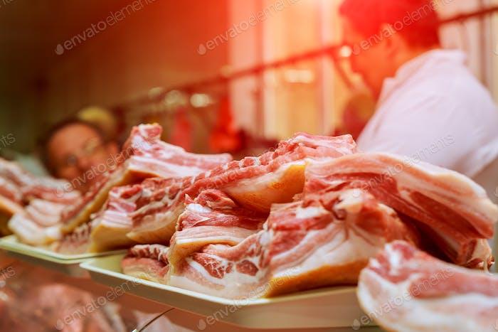 meat-packing plant sausage production sausage sausages forcemeat meat pork meat bones beef bone