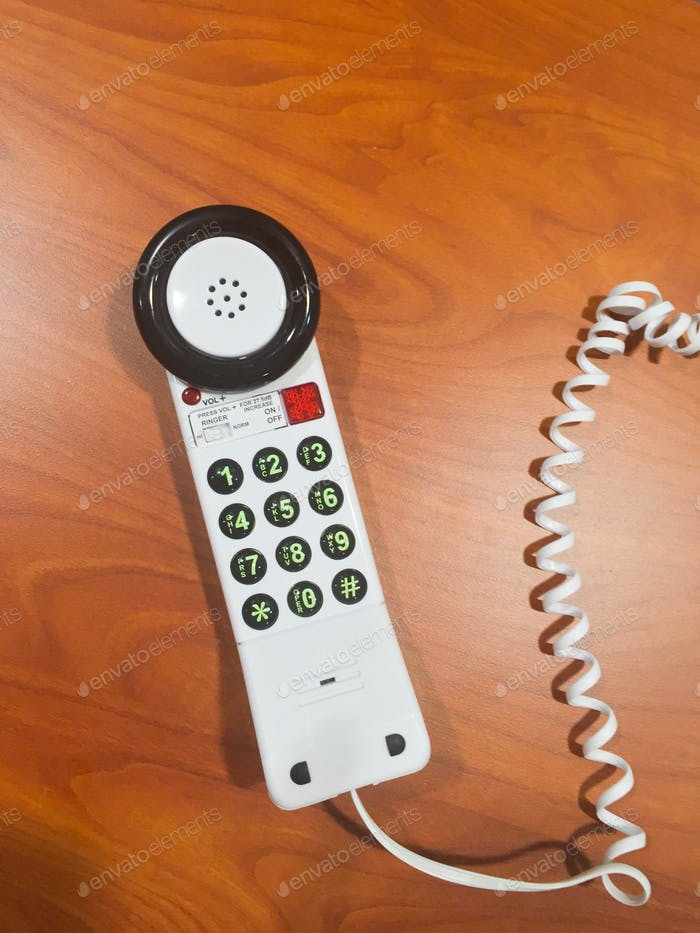 Hospital patient phone