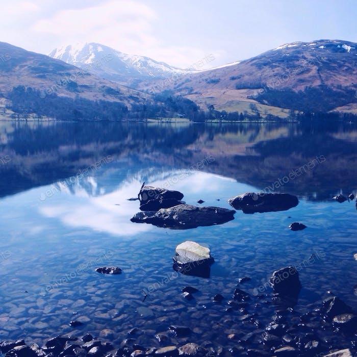 Loch Earn, Escocia.