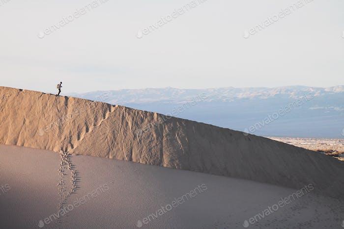 Sand dunes at Death Valley