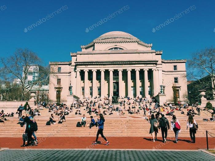 College Life at Columbia University
