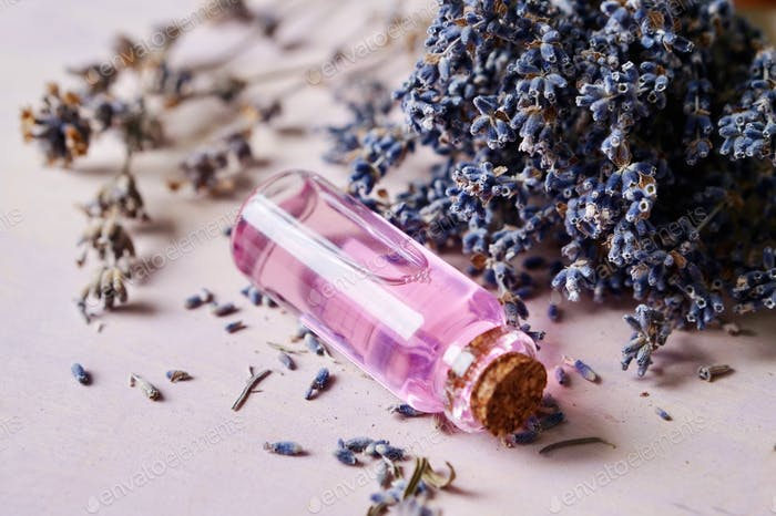 Lavender essential water