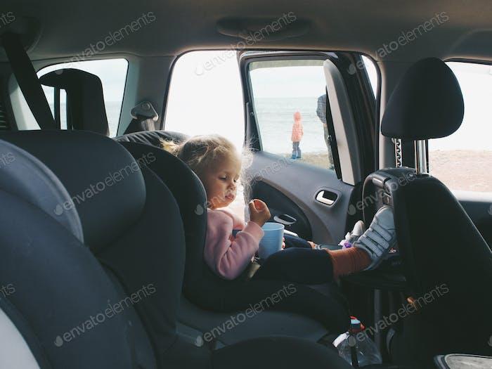 car seat, travel by car