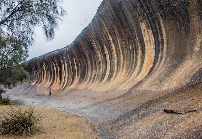 Wave Rock in Western Australia - ein unglaubliches Naturphänomen!