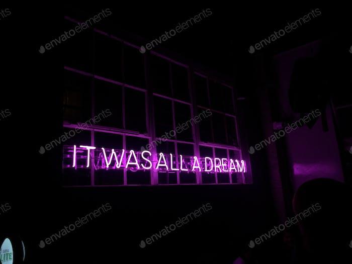 Ir was all a dream