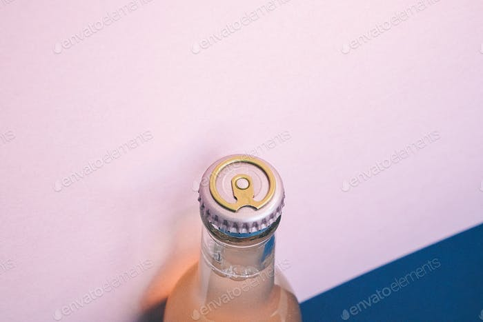 Tapa de la tapa de la botella