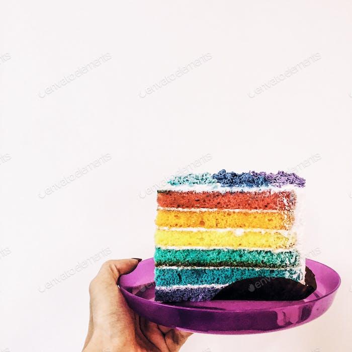 Rainbow treat for Thursday.
