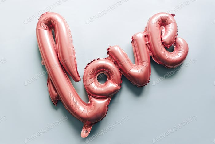 love; balloon; valentine; letter; celebration; gift; text; shape; holiday; symbol; celebrate; party;