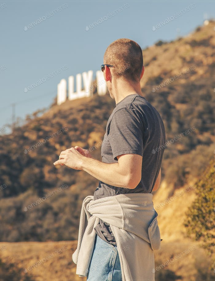 Did the climb up to the Hollywood Sign