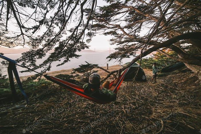 San Francisco hammock chillin