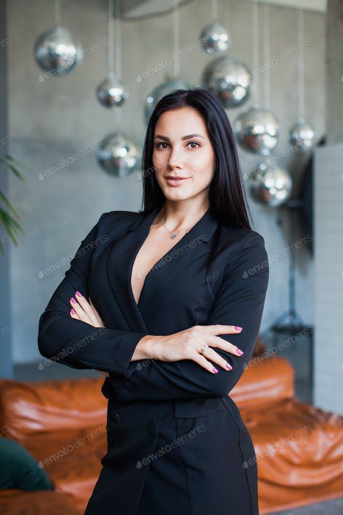 Portrait of confident business woman