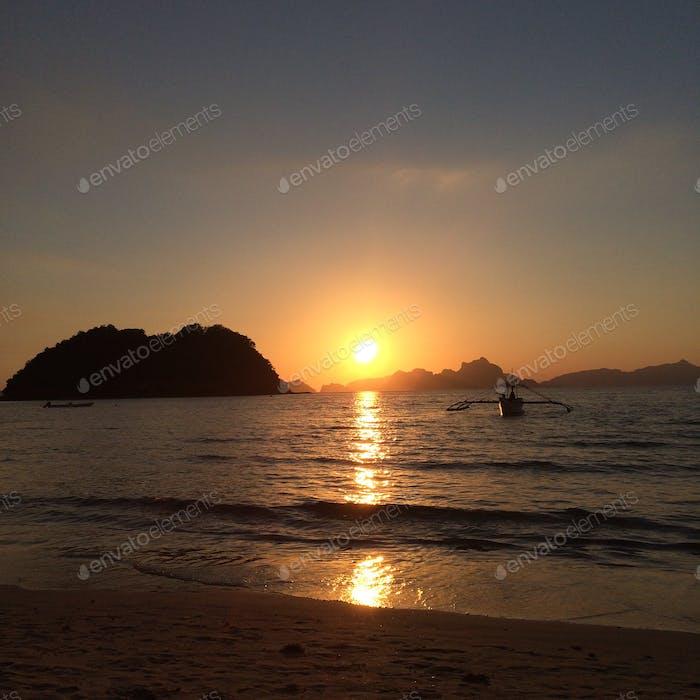 Corong Corong Beach, El Nido, Palawan, Philippines