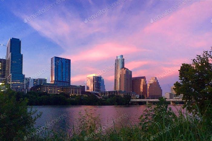 Austin skies
