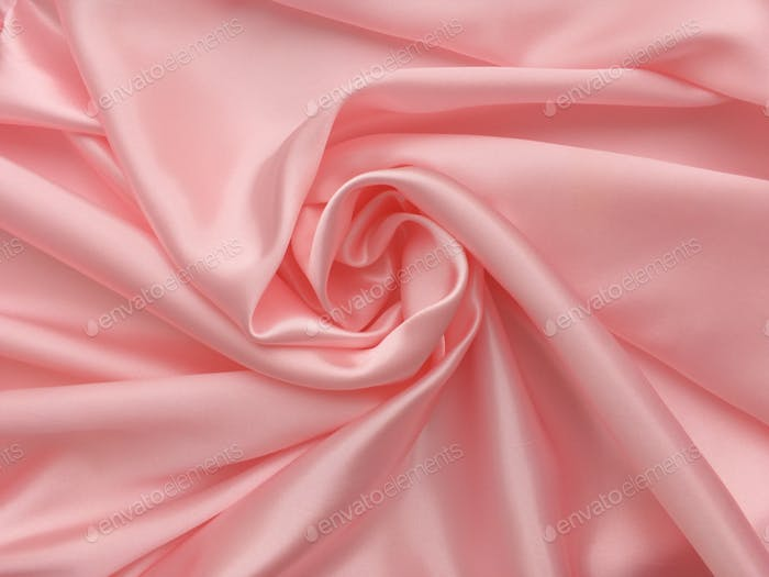 Pink fabric textile texture background