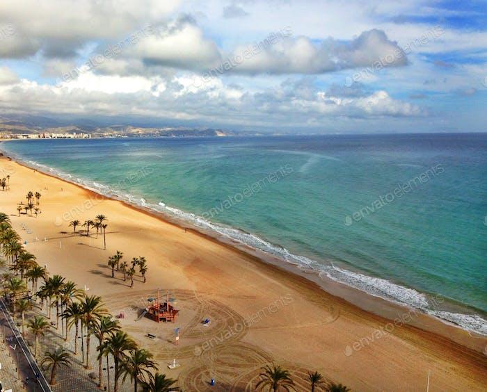 Missing my beautiful bedroom view in Alicante, España!