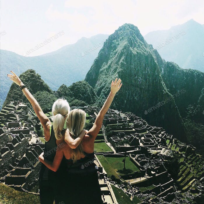 Machu Picchu with my best friend, travel buddy, and partner in crime ❤️