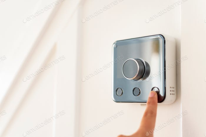 Smart heating controls, smart thermostat, heating control