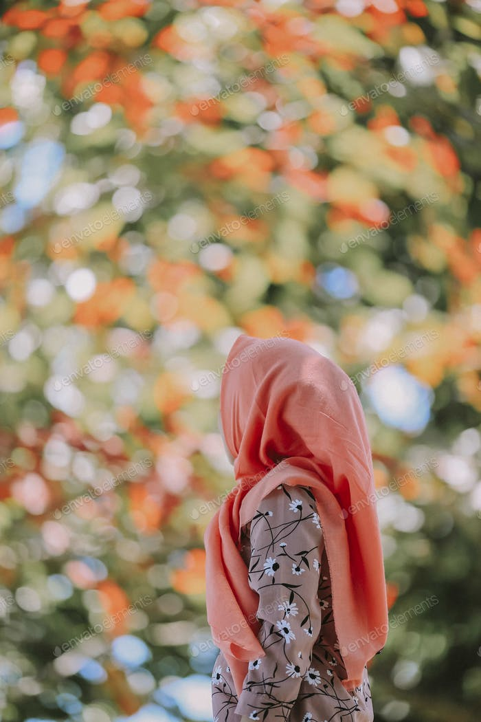 Hijab in nature