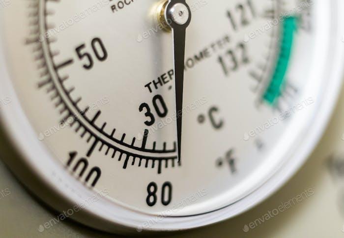 Autoclave Thermometer, Temperature Gauge
