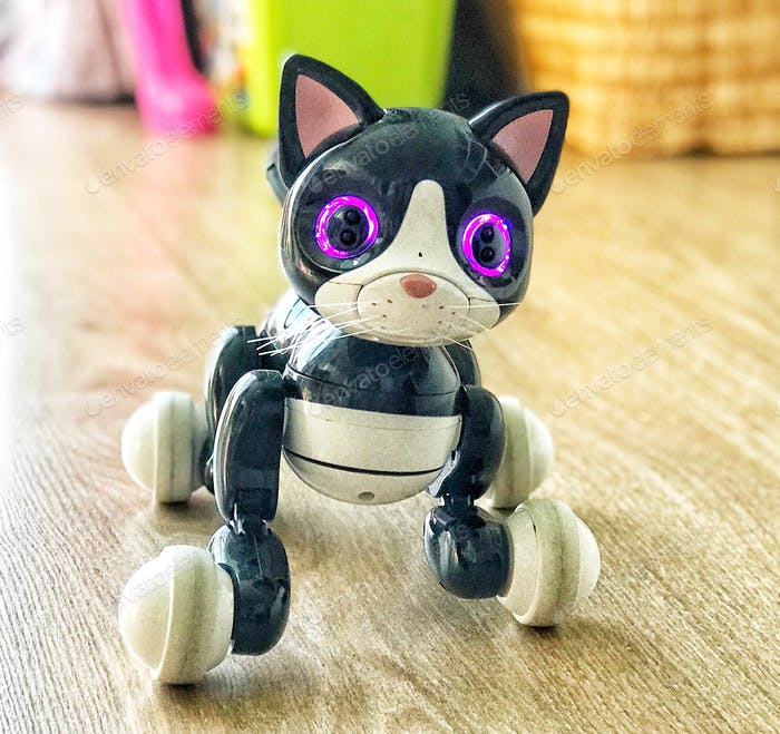 Toys Feline Robot  A blend of ingenuity and razzle-dazzle