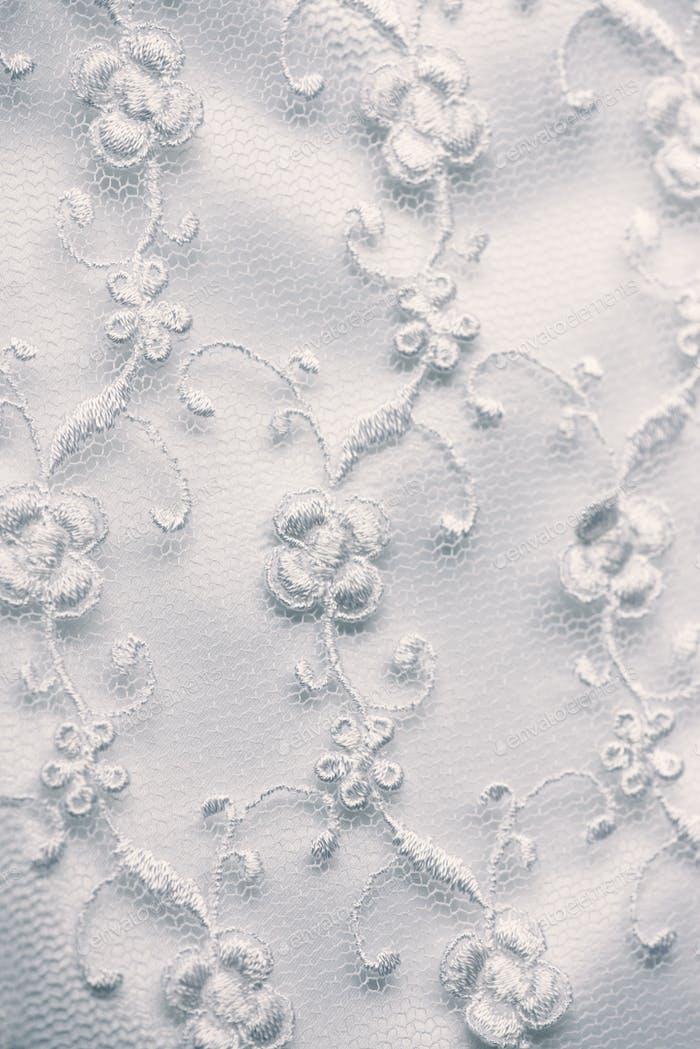 Bridal lace.