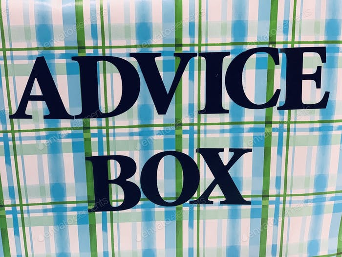 Advice box
