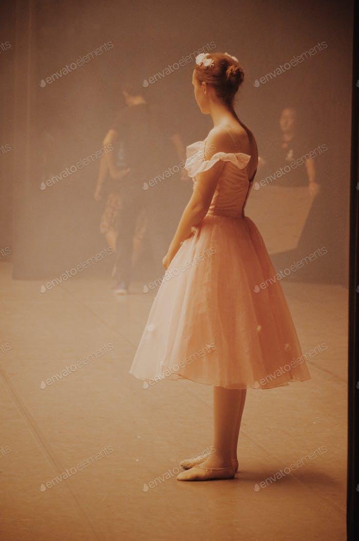 Backstage Ballerina