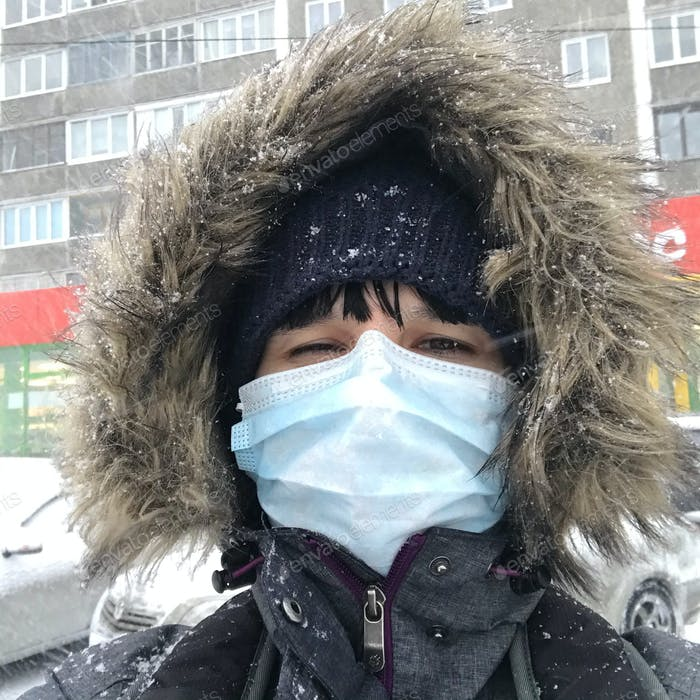People in medical mask