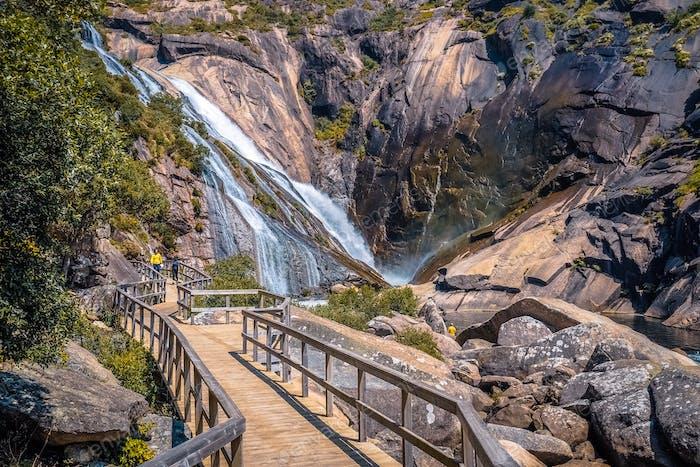 Waterfall in Galicia,Spain.