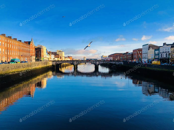 Sunny day in Cork, Ireland