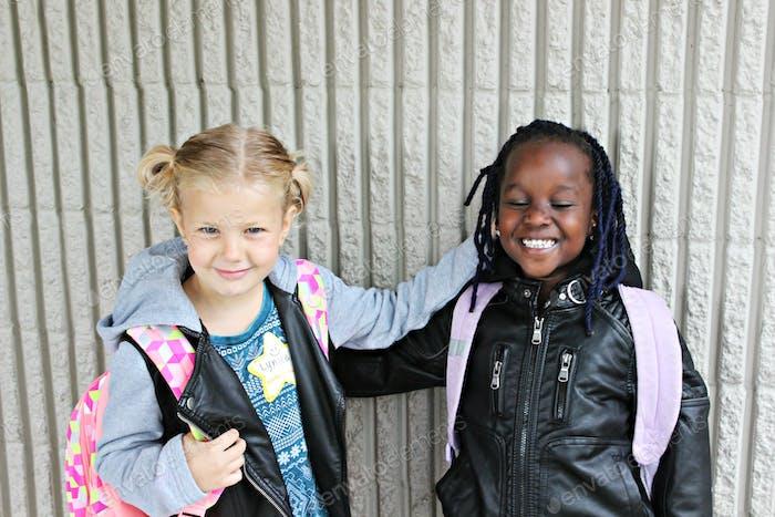 Kindergarten!!! Best friends!