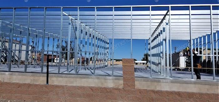 ¡ Construcción! ¡Edificio Industrial Comercial!