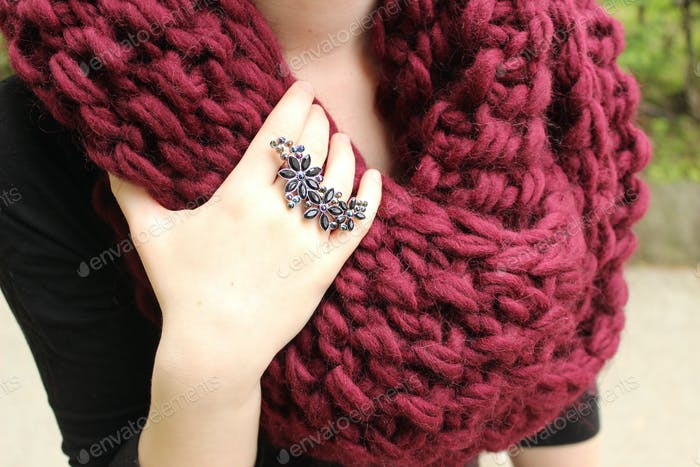 Scarf and Ring