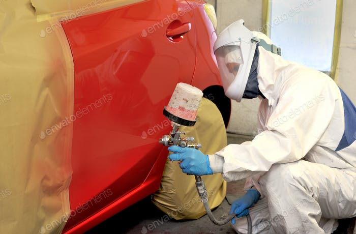 Auto Body Repairs and Paint