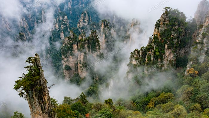 """Zhangjiajie national park in China is where """"Avatar"""" was shot... amazing place on Earth!!!"""
