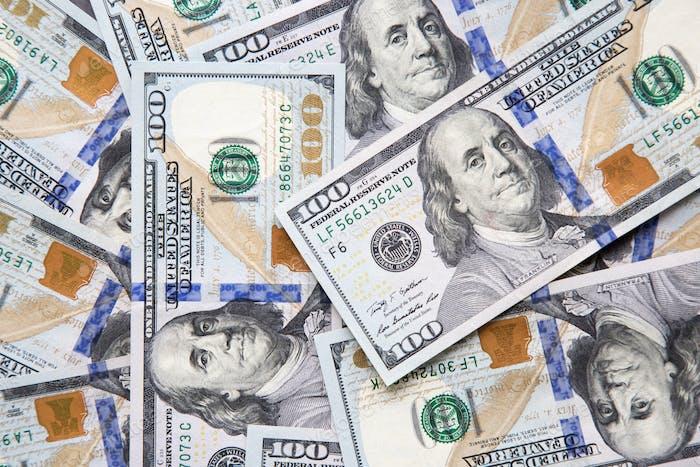NOM Banknoten von hundert Dollar-Scheine