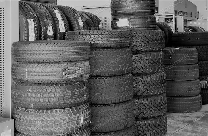 Automotive Tire Shop with Tires for all Vehicles!
