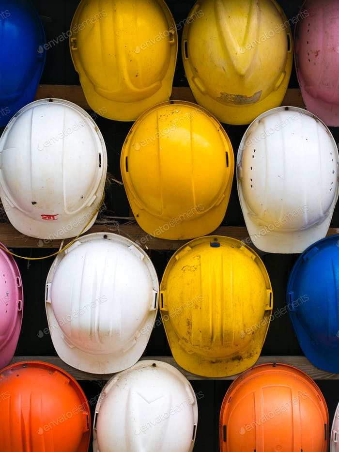 what color safety work helmet do you like?