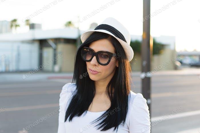 Chic Street Style of Yaiza of deepchicdiaries.com