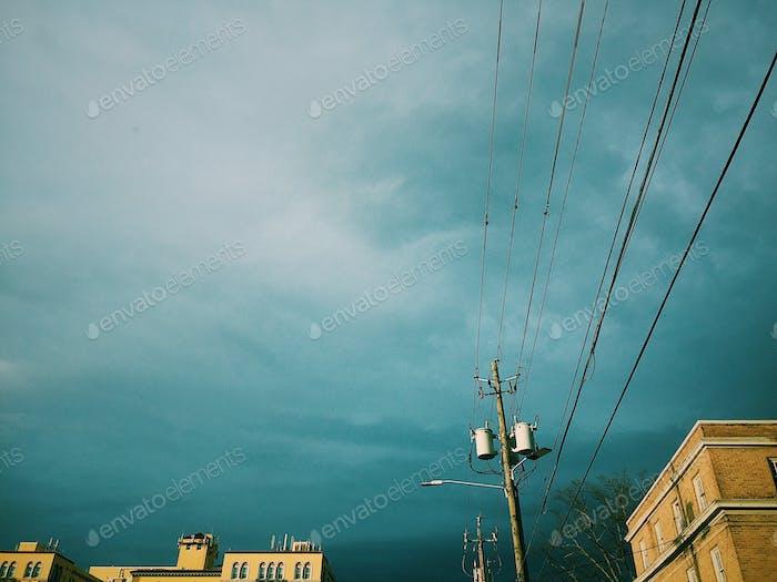 Ein bewölkter Himmel