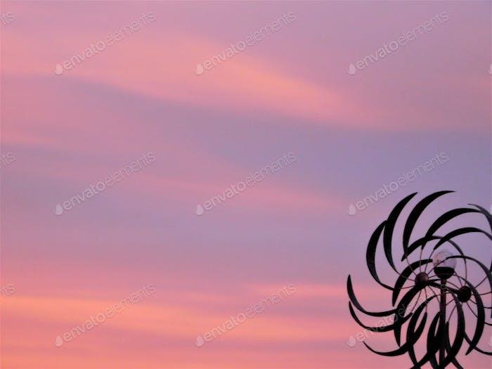Pastels! Pastel Shades of Pink Summer Sky!  NOMINATED!!