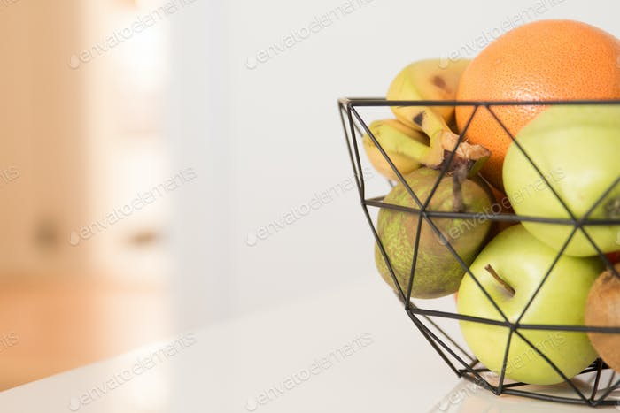A fruit basket