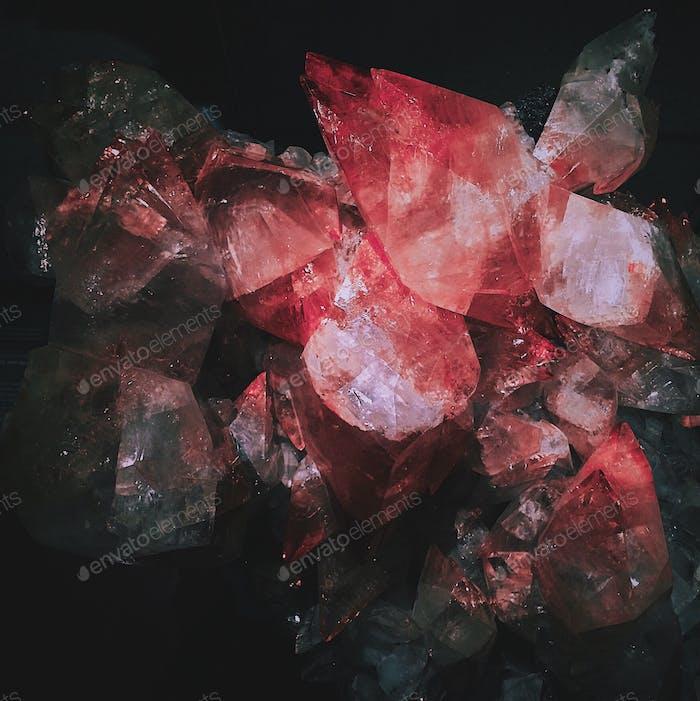 Beautiful amethyst crystal
