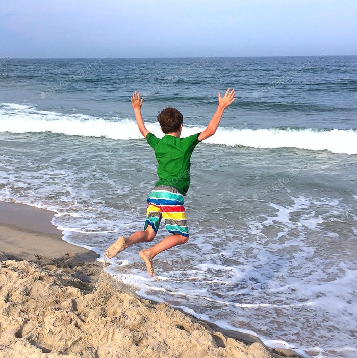 Summertime! Fun at the beach