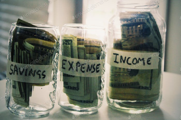Gastos de ahorro Ingresos