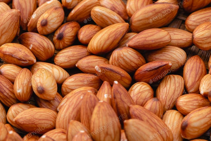 Almond beans soak in water overnight to get the most benefits before  to made almond milk